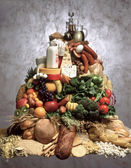 """Постер, картина, фотообои """"продовольственная пирамида"""""""