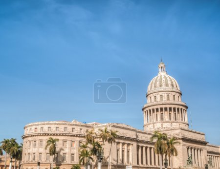 Cuba Old Havana with the Capitol