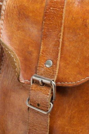 Bag on wooden background