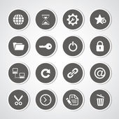 Web hosting icons for use