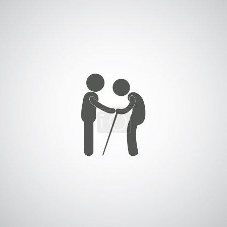 Take care elder symbol
