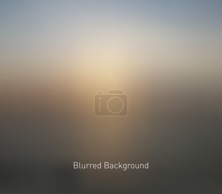 Illustration for Abstract blur unfocused style background, blurred wallpaper design - Royalty Free Image
