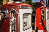 Vintage gas pumps in Arizona