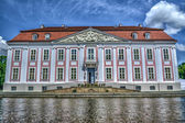 Baroque styled Friedrichsfelde Palace in Berlin, Germany. Hdr im