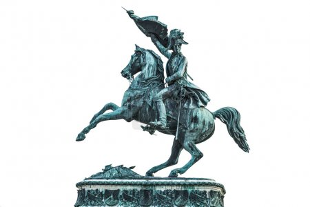 Statue of Archduke Charles of Austria at the Hofburg Palace in V