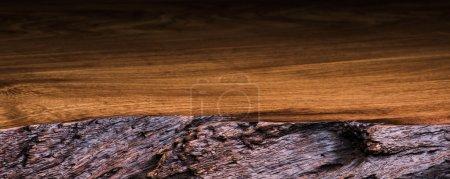 Photo pour Texture de table en bois - image libre de droit