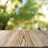 Wood walkway