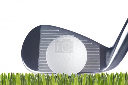 Golf ball and golf club