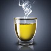 Hot Glass of Tea