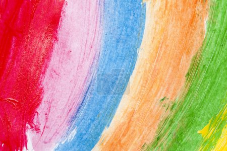 Photo for Abstract watercolor hand painted background - Royalty Free Image