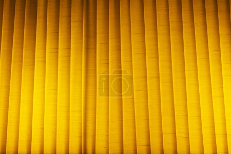 Yellow blinds