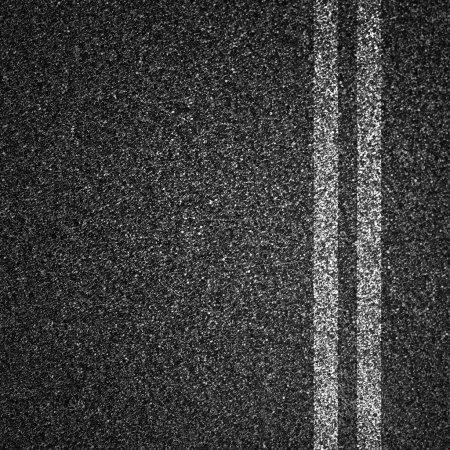 Photo pour Texture route asphalte - image libre de droit