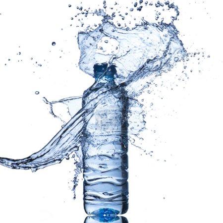 Splash with  Bottle
