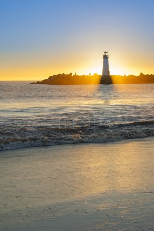 Photo for Lighthouse at sunset - Royalty Free Image