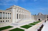 United nations organizations building in Geneva City