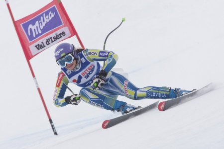 FRA: Alpine skiing Val D'Isere Women DH trg1