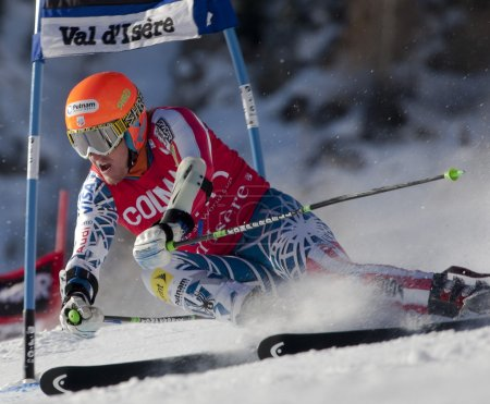 FRA: Alpine skiing Val D'Isere men's GS. LIGETY Ted.