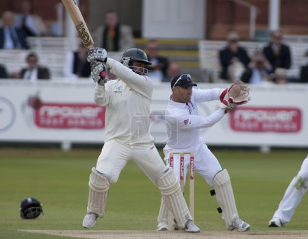 Cricket. England vs Bangladesh 1st test day 3. Tamim Iqbal, Matt Prior