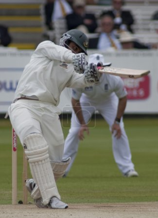 Cricket. England vs Bangladesh 1st test day 3. Tamim Iqbal