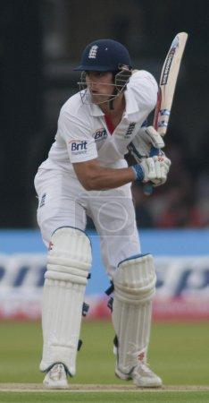 Cricket. England vs Bangladesh 1st test day 1. Alaistair Cook