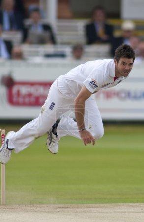 Cricket. England vs Bangladesh 1st test day 3. James Anderson