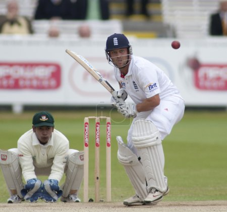 Cricket. England vs Bangladesh 1st test day 3. Johnathon Trott