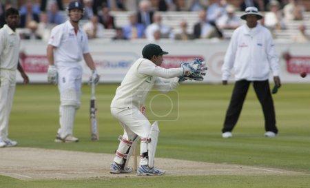 Cricket. England vs Bangladesh 1st test day 2. Mushfiqur Rahim, Matt Prior
