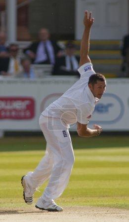 Cricket. England vs Bangladesh 1st test day 2. Tim Bresnan