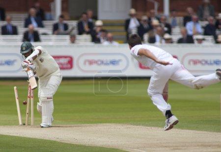 Cricket. England vs Bangladesh 1st test day 3. Mohammad Mahmudullah, James Anderson