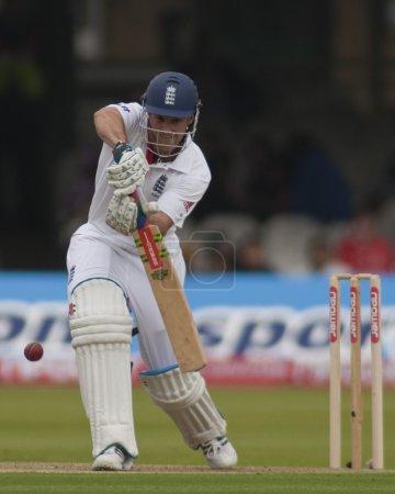 Cricket. England vs Bangladesh 1st test day 1. Andrew Strauss