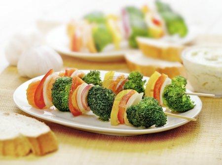 Vegetarian skewer