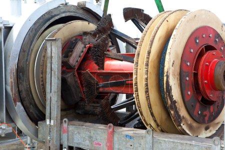 Photo pour Nettoyant pour porcs de canalisation - image libre de droit