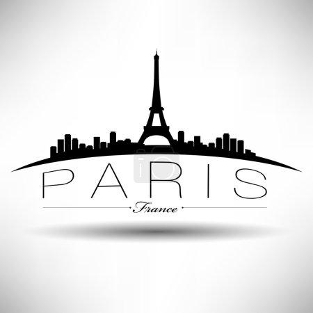 Paris Silhouette Design