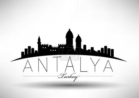Modern Antalya City Skyline Design
