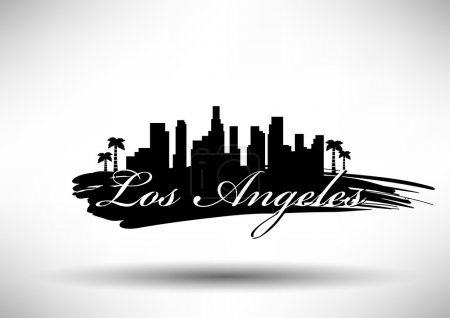 Los Angeles City Skyline Design