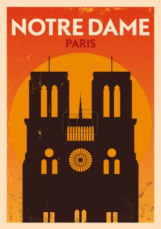 Typographic Paris City Poster Design