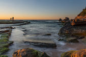 Sunrise from Sydney sea
