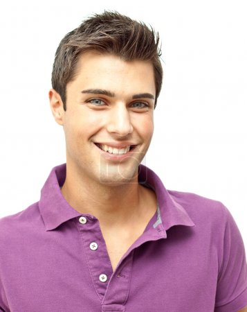 Photo for Handsome smiling young man portrait - Royalty Free Image