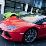 Lamborghini museum in Sant'Agata. Italy...