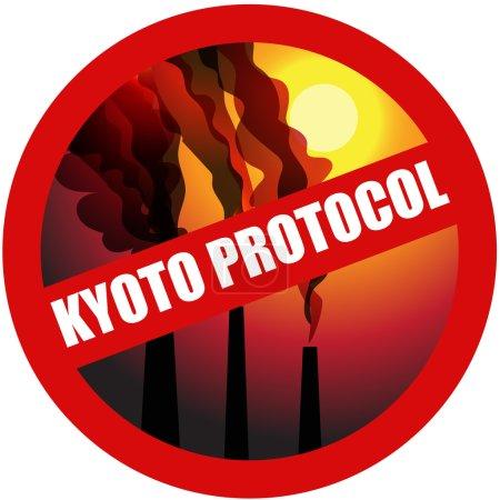 Kyoto protocol, stop gas.