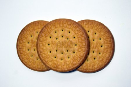 Photo for Maria's biscuit with white background - Royalty Free Image