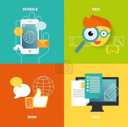 Mobile and internet marketing