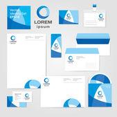 Identity corporate set design template