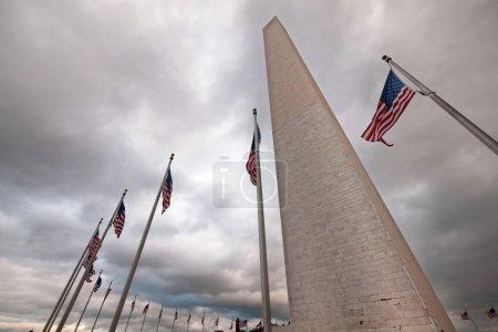 Washington Monument Scene
