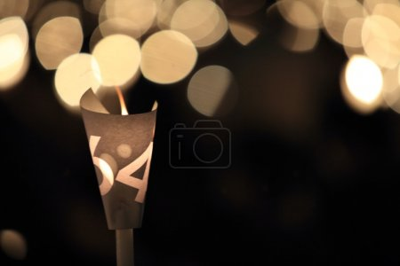 Photo for Thousands of people attend the Tiananmen square 25th anniversary candlelight vigils in Victoria park in hong kong - Royalty Free Image