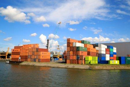 Cargo Port of Rotterdam 004