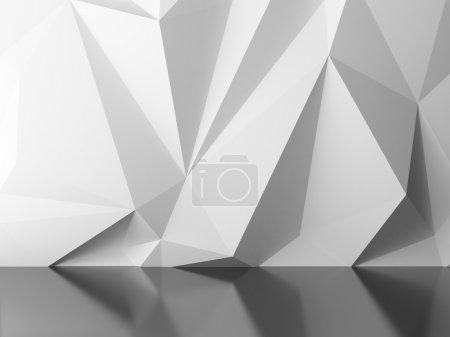 Foto de Render 3D de fondo abstracto blanco - Imagen libre de derechos