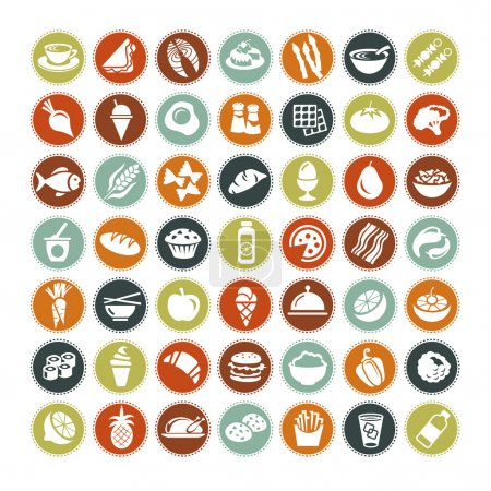 Big set of food icons ALL NEW