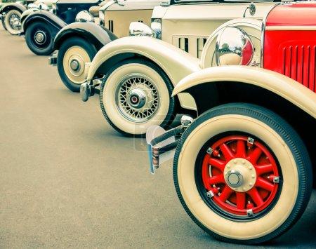 Vintage Cars Wheels