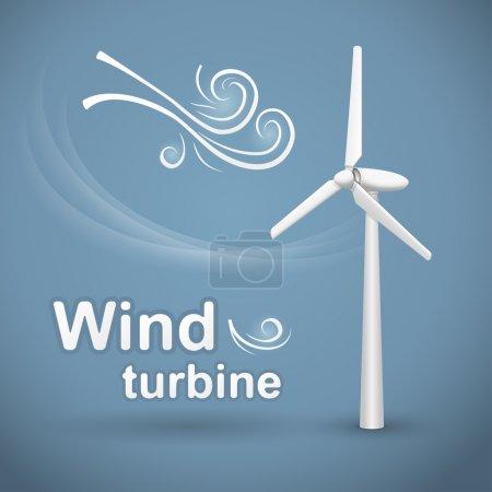 Wind turbine background